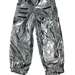 Image 4 - Halloween Silver Pilot Astronaut Alien Spaceman Cosplay Costume Carnival Party Couple One Piece Jumpsuit
