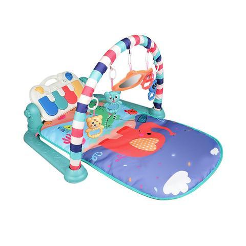 criancas criancas brinquedos do bebe rack de aptidao cobertor musica de piano jogo brinquedos desenvolvimento