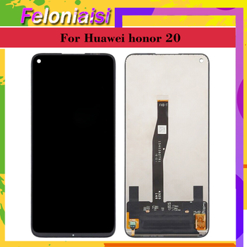 Original LCD For Huawei Honor 20 YAL-L21 LCD Touch Screen Digitizer YAL-L41 YAL-AL10 Replace For Huawei Honor 20 Pro LCD Screen