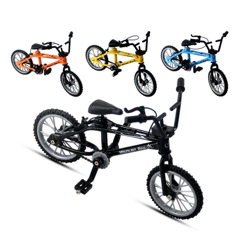 Mini Finger BMX Bicycle Finger Bikes Toys BMX Bicycle Model Bike Tech Deck Gadgets Novelty Gag Toys For Kids Gifts