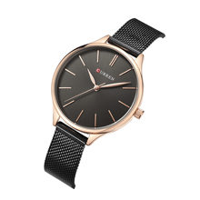 CURREN Wrist Watches For Women Quartz Watch High Quality Simple Modern Reloj Mujer Stainless Steel Top Brand Casual Ladies