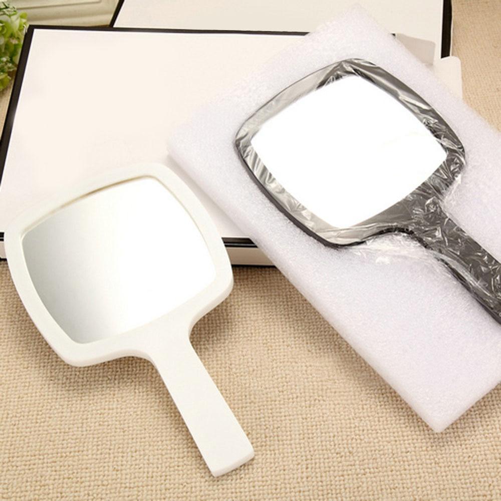 4.6* 4.5 Acrylic Handheld Mirror All-round Makeup Mirror Cosmetic Hand Held Mirror Magnifier Mirror For Ladies Beauty Dresser