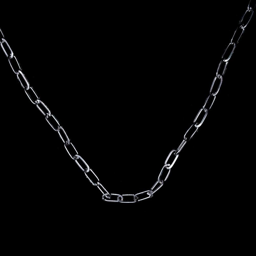 H295b876cdc9a44ab8c76180169df235es - Zoeber Multi-Layer Long Chain Necklace Punk Cross Pendant Necklace for Women Men Metal Silver Chains Hip Hop Goth Jewelry Gifts