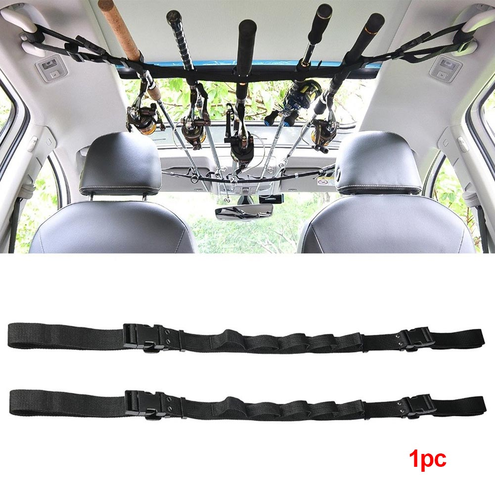 Suspenders Wrap Rod Holder Easy Place Organize Transport With Tie Nylon Fasten Protective Carrier High Strength Belt Strap Car