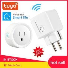 Wi fi smart plug 16a адаптера переменного тока Беспроводной