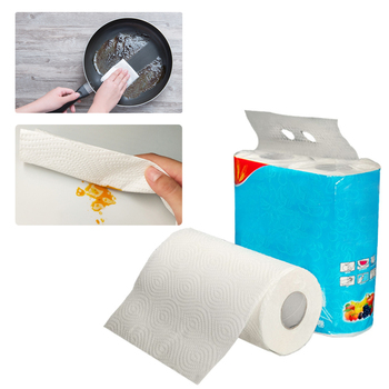 Multifunctional Kitchen Roll Paper Paper Towels For Kitchen Paper Food Oil On Paper Cupboard Oil Absorbing Paper Absorption