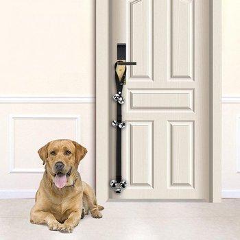 Dog Doorbell Rope Pet Safe Leash Rope Anti-Dog Grab Bite With Alarm Bells For Dog Training Safe Bite-resistant 1pc/2pcs optional