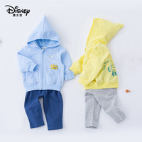 Disney Children's Clothing Jacket Suit Spring New Hooded Long Sleeve Sweater Boys Clothes Girls Clothes Boutique Kids Clothing