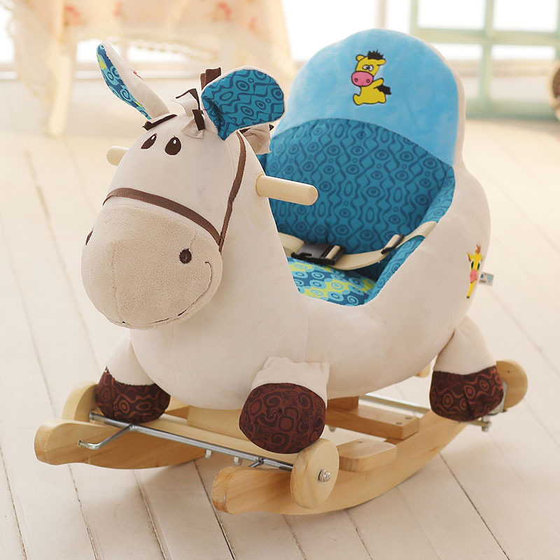 Baby Rocking Horse Baby Toy Kids Chair Bebe Rocking Chair Animal Swing Rocking Chair Baby Rocker Swing Chair Rocking Horse
