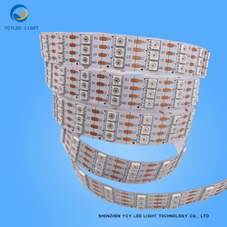 144 Leds/m 5V Ws2813 SK9822 Apa102 Dual Signal Individual Addressable 5050 smd Neopixel Rgb Projects Led Strip