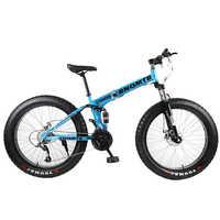 BNQMTB-bicicleta de montaña para adultos, bici de carretera deportiva de 30 velocidades, con freno de disco doble, 26x4,0