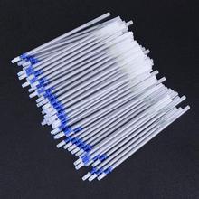 Pen Leather-Craft Refill-Pen Fabric for Marking 100pcs Water-Erasable-Pens Mercury