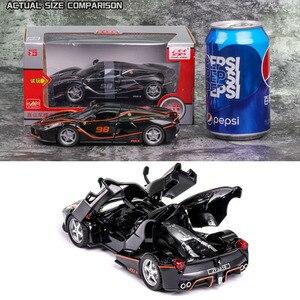 132 Модель Автомобиля ferrari-laferrari, литая Игрушечная модель автомобиля из сплава, Детские коллекционные игрушки, бесплатная доставка