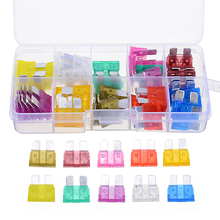 50pcs/box Car Auto Standard Mixed Medium Size Blade Fuse Assortment Set 3A/5A/5A/10A/15A/20A/25A/30A/35A/40A Auto Blade Fuse 120pcs 1 box new mini auto automotive car boat truck blade fuse box assortment 5a 7 5a 10a 15a 20a 25a 30a