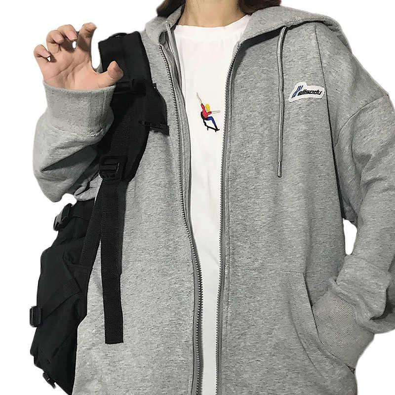 Vrouwen Oversized Hoodies 2020 Vroege Herfst Ins Koreaanse Stijl Mode Vriendje Lui Charm Slim Gemakkelijk Bijpassende Student Kapmantel