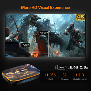 Image 4 - TEKASMI HK1 RBOX Smart TV Box Android 10 Rockchip RK3318 4GB 64GB 32GB H.265 2.4G 5GHz Wifi Bluetooth 4K Set TOP BOX 2GB 16GB