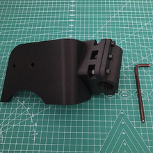 Carbon Fiber Shifter Adapter Left Hand/Right Hand For Playseat Challenge for Thrustmaster TH8A  fixed on the chair