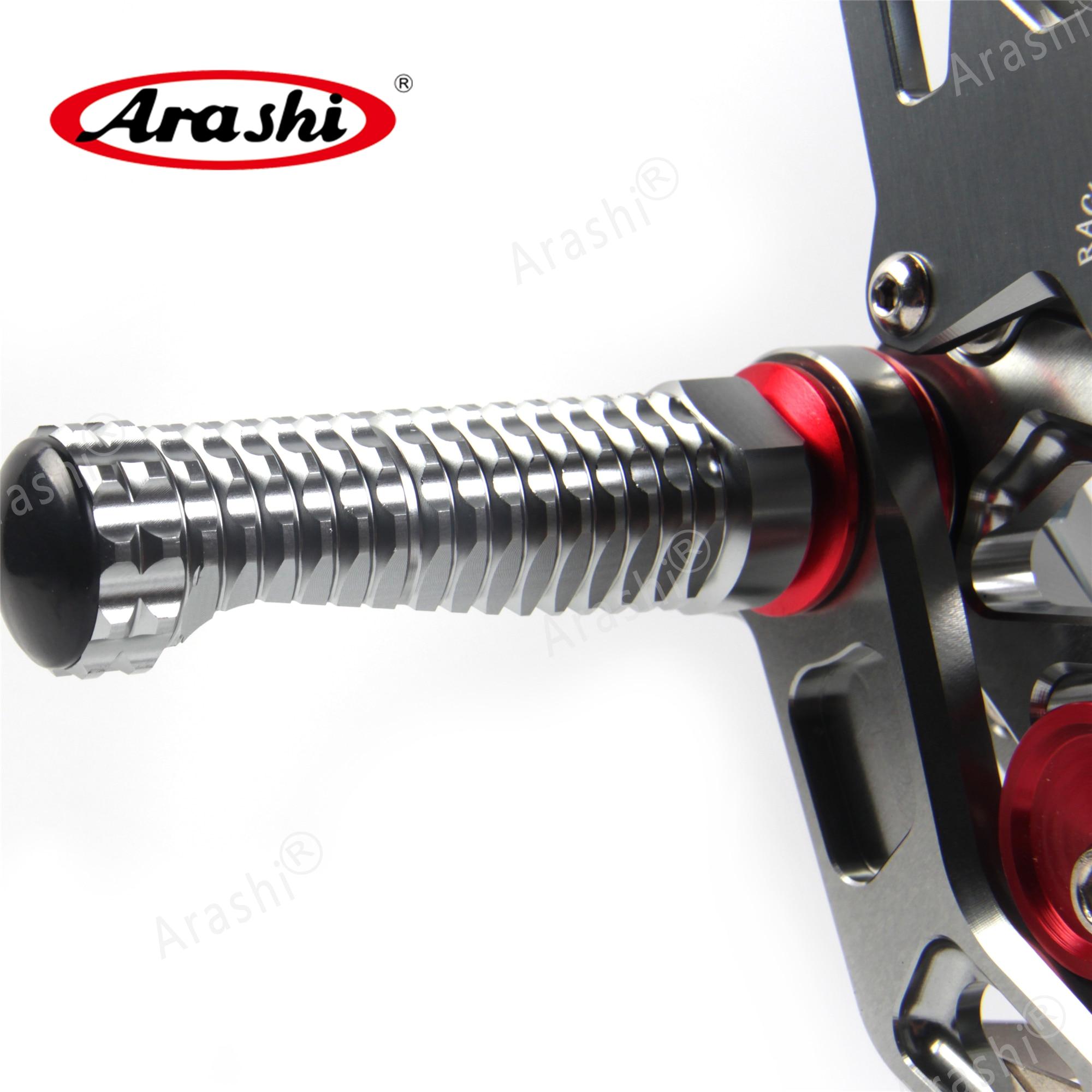 Image 5 - Arashi Motorcycle Adjustable Footrest For HONDA CBR1000RR 2004   2017 Foot Peg Rearsets CBR1000 CBR 1000 RR 2008 2009 2010 2011Foot Rests   -