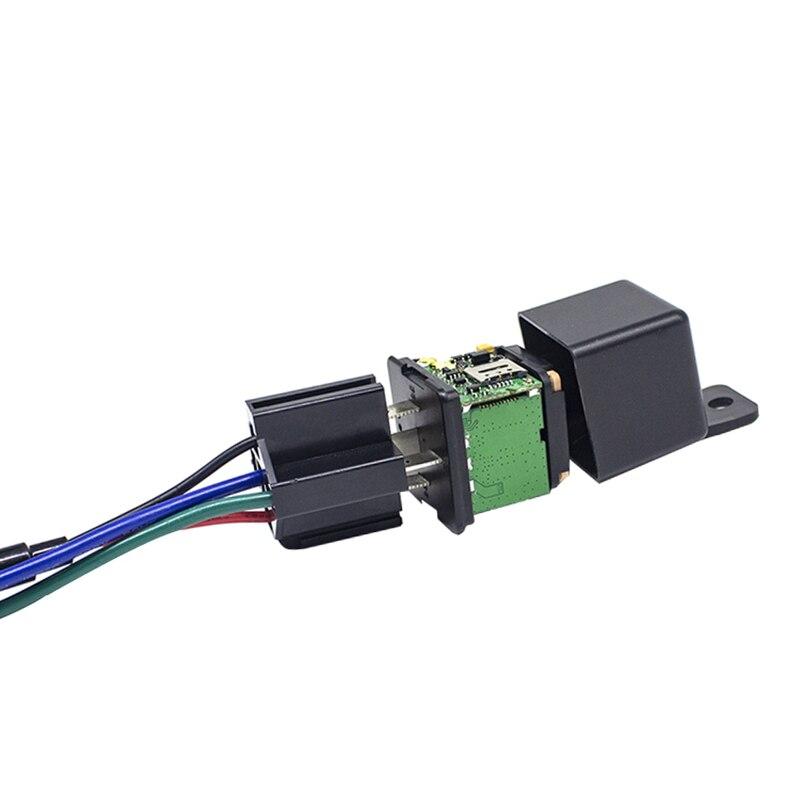 Mini inteligentne Gsm Gprs pojazdu przekaźnik GPS samochodowy do samochodów
