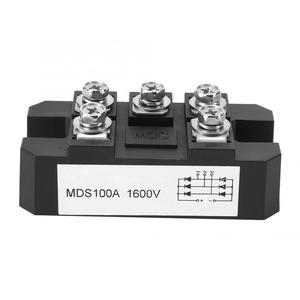 MDS100A 1600V Diode 3-Phase Rectifier Large Power Bridge Rectifier 600~1600V Metal Case Diode Bridge Control
