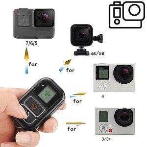 Image 4 - SHOOT GoPro Hero 용 WiFi 원격 제어 8 7 6 5 Black 5 4 세션 3 + GoPro 용 손목 스트랩 장착 8 7 5 카메라 액세서리