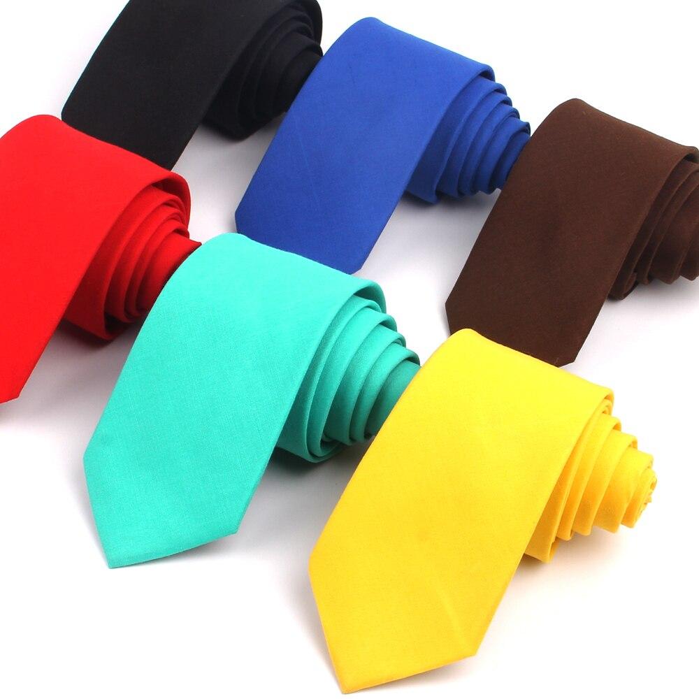 Solid Skinny Neck Ties For Men Women Casual Suits Neck Ties Candy Color Mens Neckties For Business Wedding Gravatas Men Ties