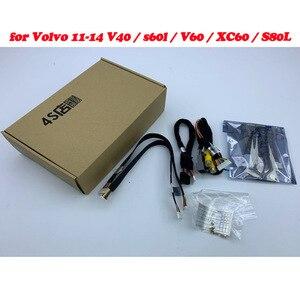 Image 2 - Telecamera di retromarcia per Volvo XC60/V40/V60/S60/S80L 2012 ~ 2014 Adattatore di Interfaccia di Sostegno della Parte Posteriore telecamera Collegare Originale Schermo MMI