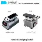 Novecel Drehen LCD Screen Separator für Glas Trennen & Kleber Sauber Entfernen Universal Heizung Trennung Maschine
