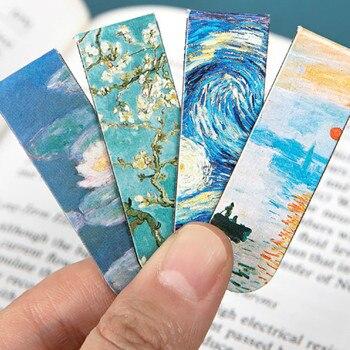 La serie del Museo marcador magnético fresco 90mm * 70mm Material creativo de oficina escolar