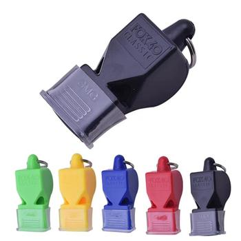 цена на High quality Sports Like Big Sound Whistle Seedless Plastic Whistle Professional Soccer Basketball Referee Whistle outdoor Sport