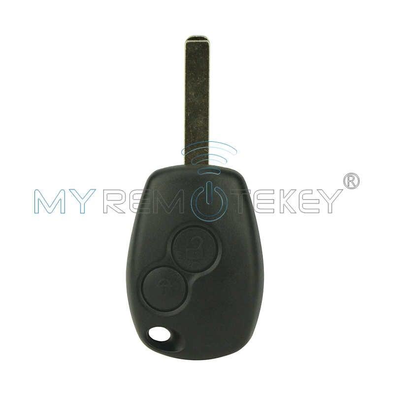 Obudowa pilota z kluczykiem samochodowym skrzynki pokrywa dla Renault Clio Kangoo Master Modus Twingo 2006 2007 2008 2009 2010 2 przycisk VA6 remtekey