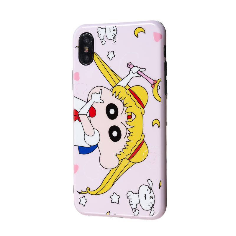 Cute Cartoon Marble 11 Pro Max TPU Soft Silicone XR Fitted Case for iPhone 7 Cover X XS Max Coque 6 6S 7 8 Plus  Bumper SE 2020
