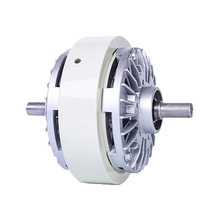 Extended shaft magnetic powder clutch 0.6~5KG Roll up Biaxial tension inflatable shaft Magnetic powder brake FL6A-1