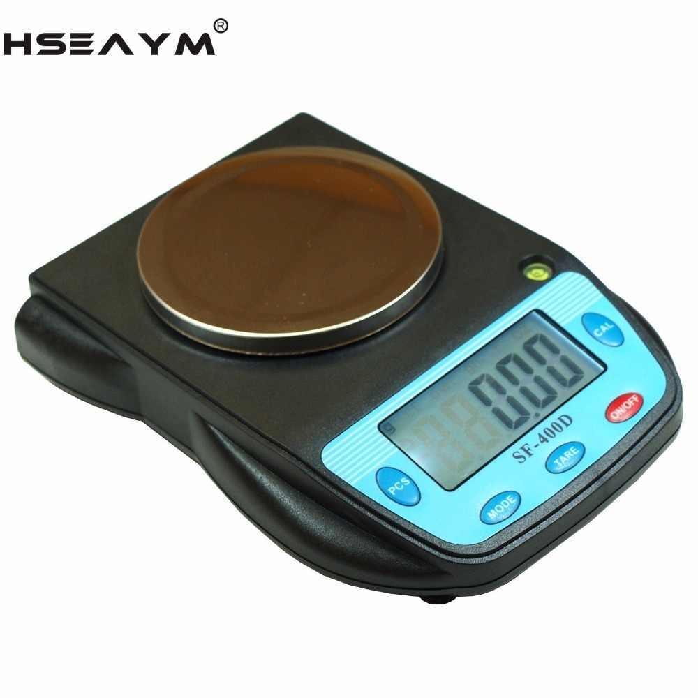 Электронные карманные весы для ювелирных изделий, 500 г x 0,01 г