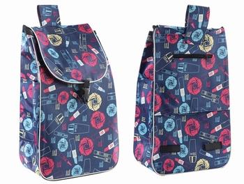 Torby na zakupy na wózek na zakupy torby na zakupy torby kobieta kosz na zakupy torby na zakupy na artykuły spożywcze torby na kółkach torebka na rynek tanie i dobre opinie CN (pochodzenie) Oxford WOMEN Na co dzień