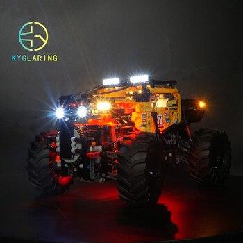 Kyglaring led ışık kiti lego Technic 42099 4x4 X-treme Off-roader (sadece ışık dahil)