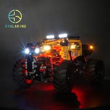 Kyglaring led light สำหรับ lego Technic 42099 4x4 X Treme Off Roader (เฉพาะรวม)