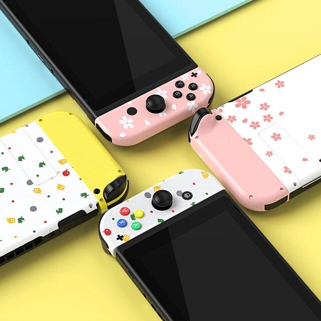 Personalizzato Animal Crossing A Tema per Nintendo Switch Joycon Joy-Con controller Borsette 5