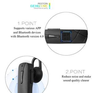 Image 4 - M168 Bluetooth Headset Earhook Bluetooth Headphone Sweatproof Bluetooth Earphone With Microphone Universal For All Phone
