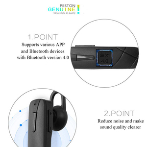 Image 4 - M168 Bluetooth Headset Ohrbügel Bluetooth Kopfhörer Sweatproof Bluetooth Kopfhörer Mit Mikrofon Universal Für Alle Telefon