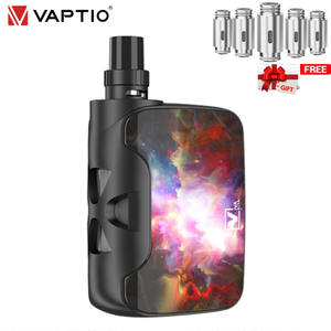 Electronic-Cigarette-Kit Vape Vaporizador Vaptio Fusion 1500mah SP/3.8 All-in-one-30/40/50w