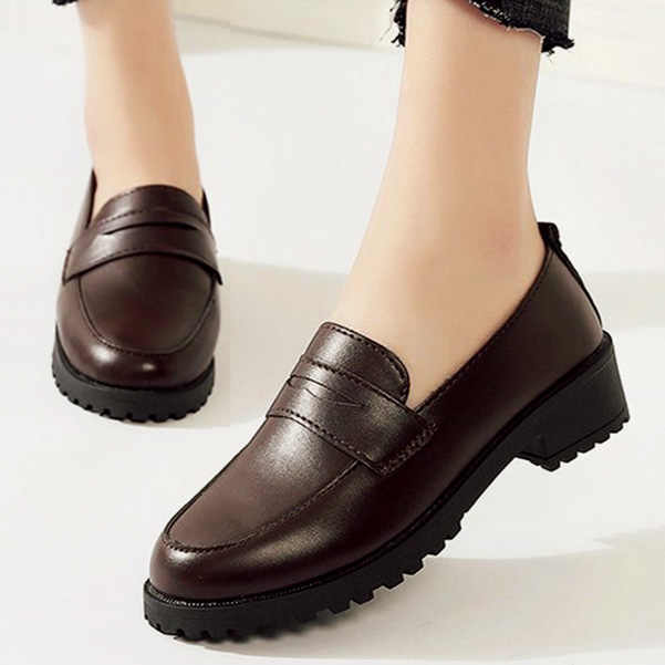 women slip on casual shoes