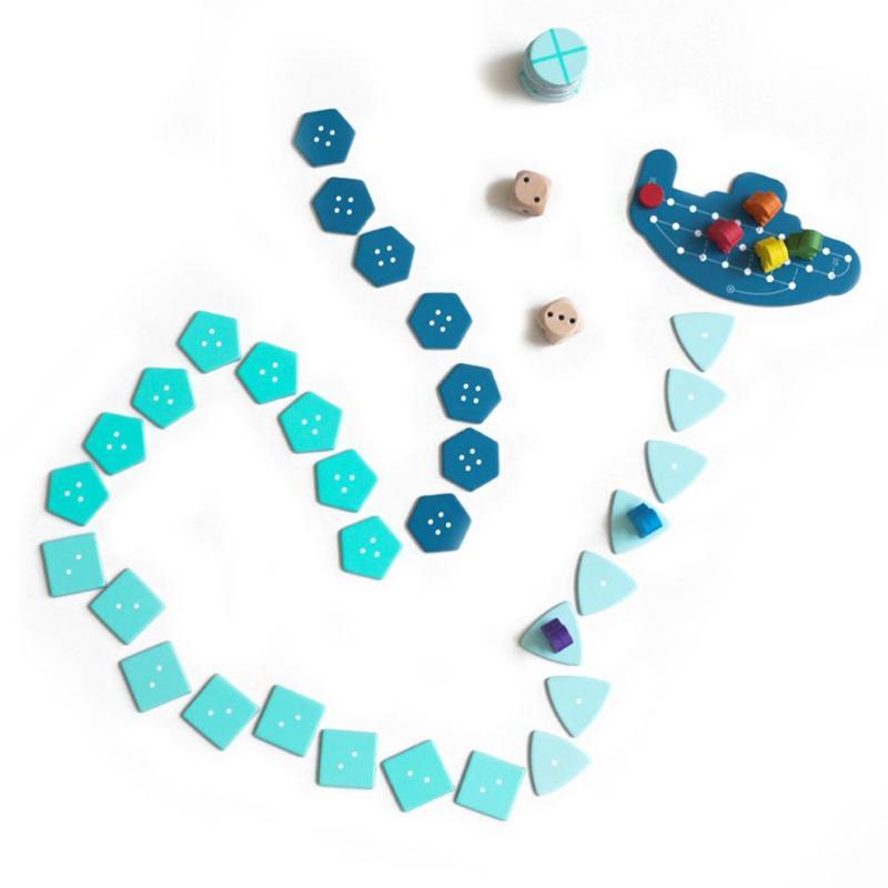 لعبة لوحة المغامرات في أعماق البحار من 2 6 لاعبين مناسبة للحفلات العائلية أفضل هدية للأطفال لعبة مونتيسوري الإنجليزية المضحكة-في العاب استراتيجية من الألعاب والهوايات على