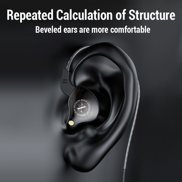 Hifi Wired Earphone Bass Headphones Noise Reduction Sport Earphones 3.5mm Wired Gaming Headset for Redmi Note 8 Umidigi A5  Pro 4