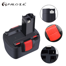 For Bosch BAT038 BAT140 14.4V 2000mAh Rechargeable Battery Pack Power Tool Cordless Drill Replacement for 3660CK Ni-CD