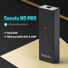 TempoTec (Sonata HD ProสำหรับAndroid/PC) เครื่องขยายเสียงหูฟังHiFiถอดรหัสUSBประเภทCถึง3.5มม.อะแดปเตอร์DAC Audio Out