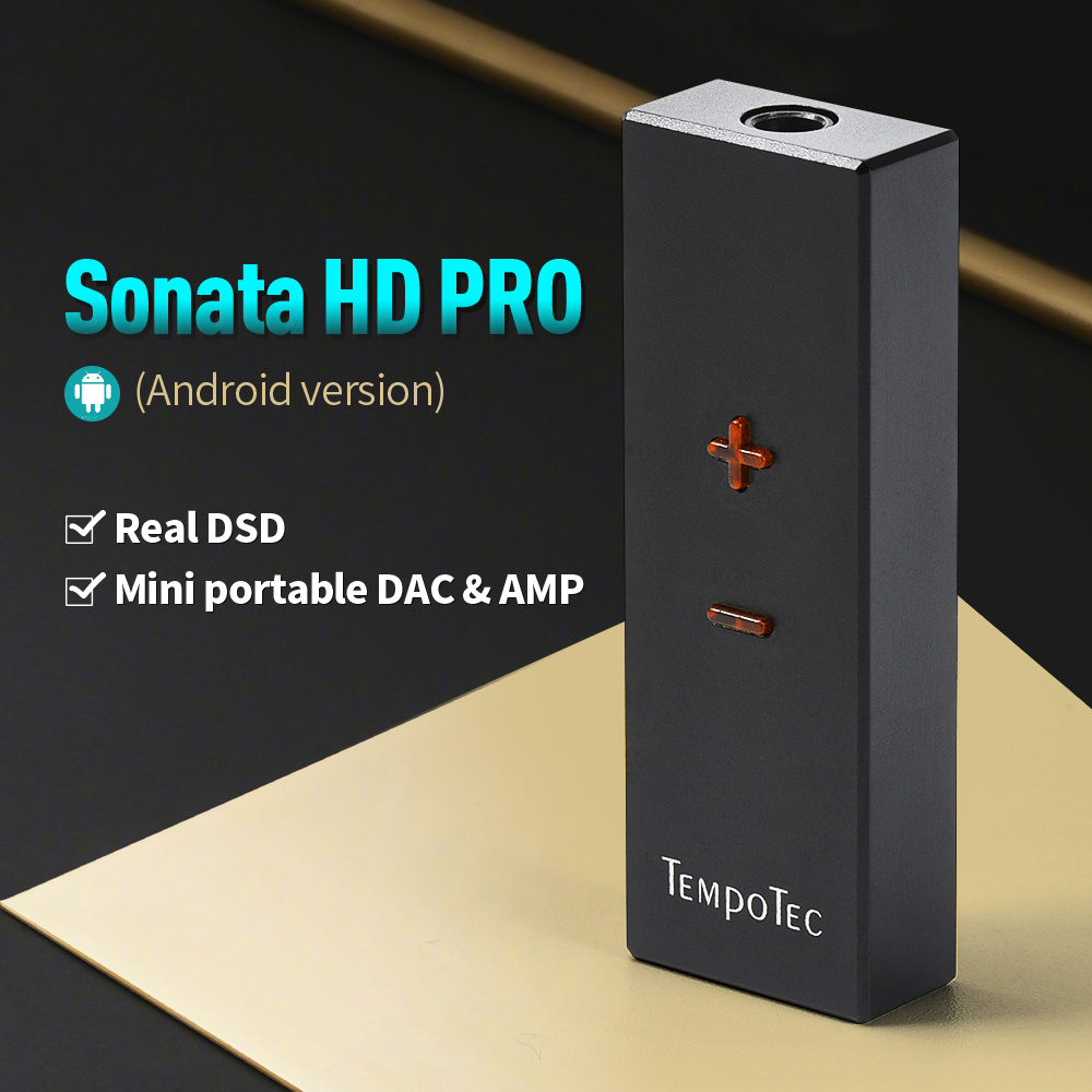 TempoTec  sonata hd pro for Android PC  Headphone Amplifier HiFi Decoding USB type C to 3 5mm adapter DAC Portable Audio out