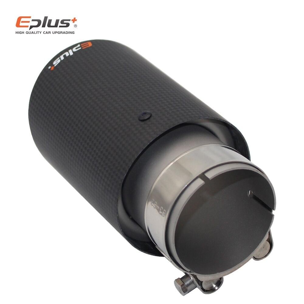 eplus tubo de escape ponta silenciador carbono 04