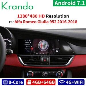 Krando Android 7.1 10.25'' car