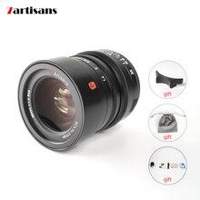 7artisans M35mm f1.4 tam çerçeve M c montaj Lens Leica M2 /M3/M4/SL/ TL /TL2/CL Fujifilm GFX aynasız kameralar ücretsiz kargo
